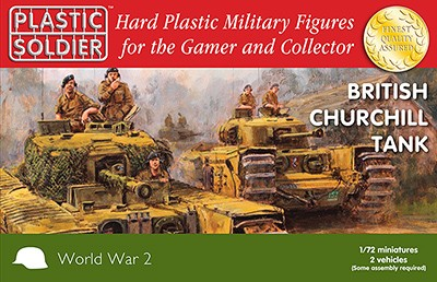Plastic Soldier WW2V20017 British Churchill Tank